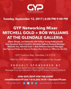 Glendale Young Professionals Gyp Networking Mixer At Mitchell Gold